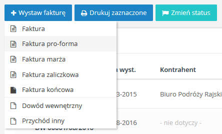 Co to jest faktura proforma?